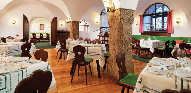 Goldener Hirsch, restaurant