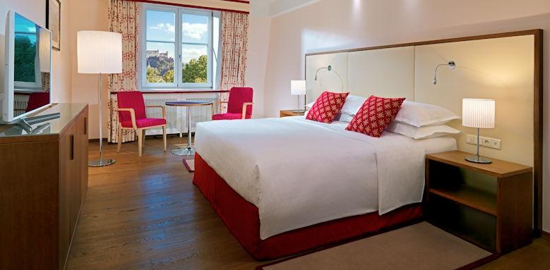 Sheraton Grand Salzburg, deluxe room