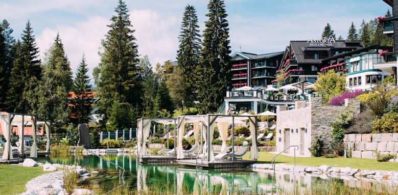 Astoria, swimming lake