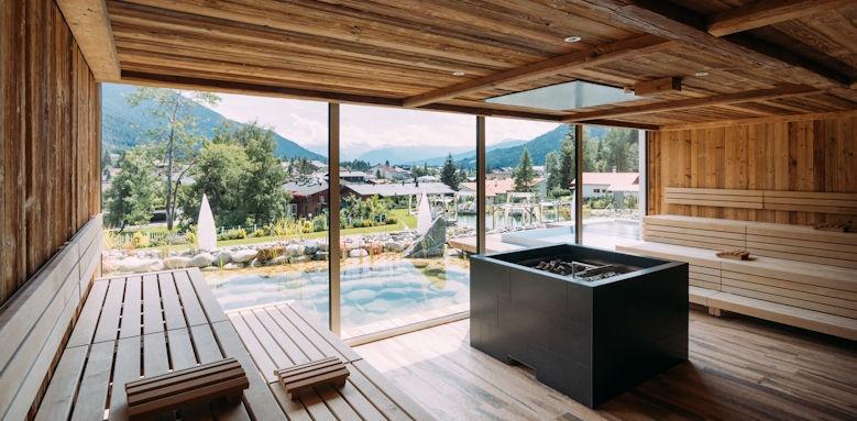Astoria, sauna