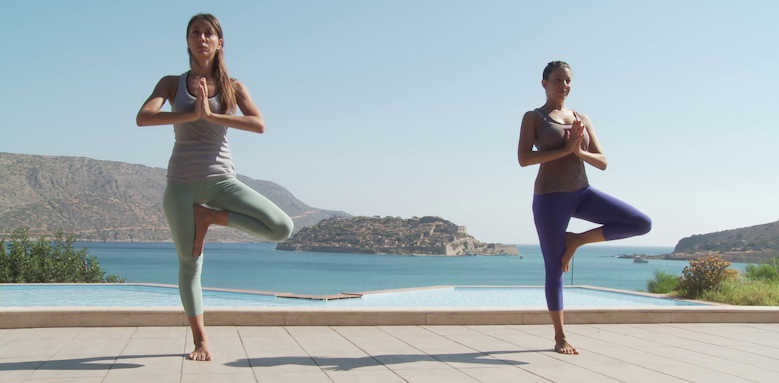 Domes of Elounda, yoga
