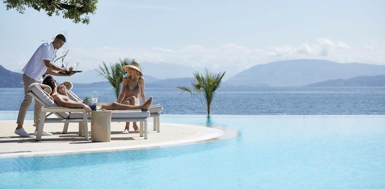 ikos dassia, pool service