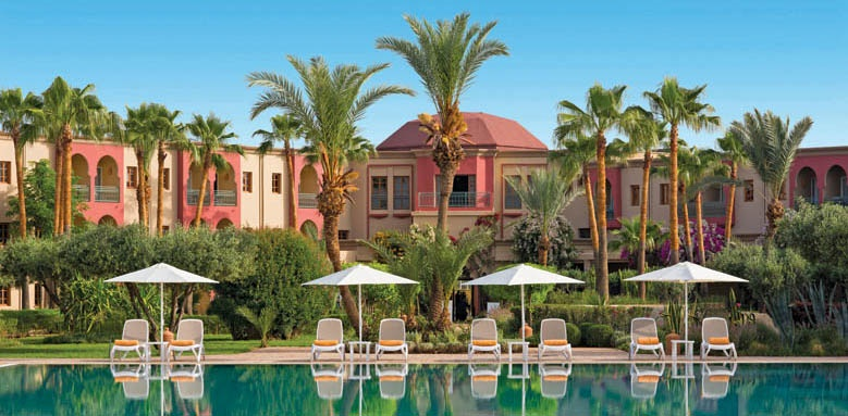 Iberostar Club Palmeraie Marrakech, view of pool and hotel