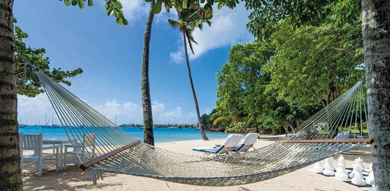 Calabash Luxury Boutique Hotel & Spa, beach hammock