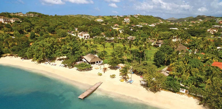 Calabash Luxury Boutique Hotel & Spa, aerial view