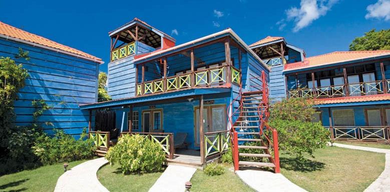 True Blue Bay Boutique Resort, exterior
