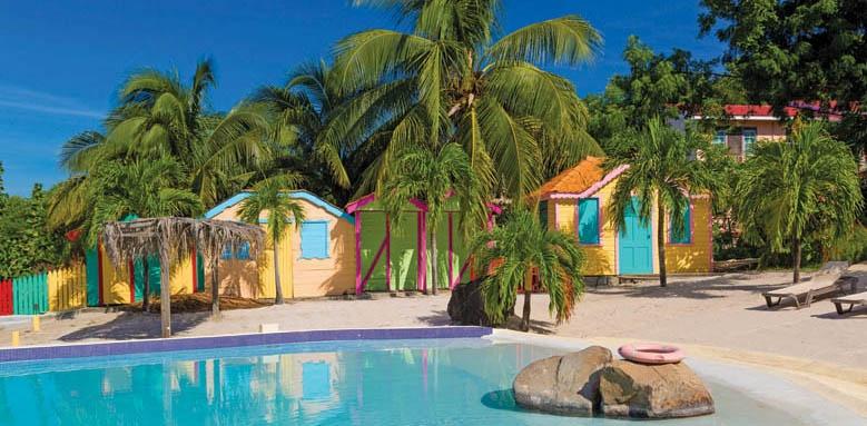 True Blue Bay Boutique Resort, infinity pool