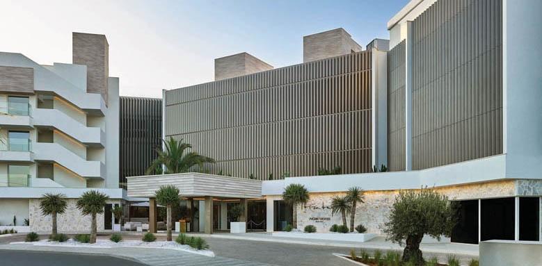 Nobu Hotel Ibiza Bay, hotel facade