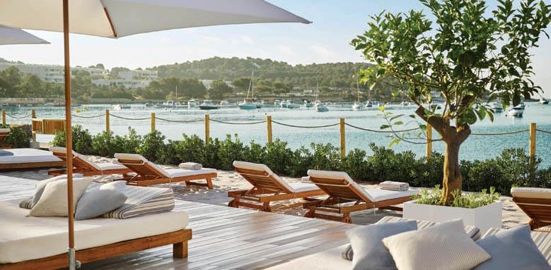 Nobu Hotel Ibiza Bay, sunloungers