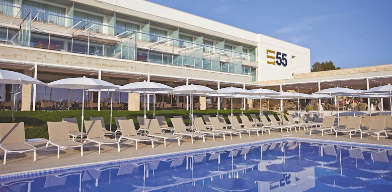 hotel 55 santo tomas, childrens pool