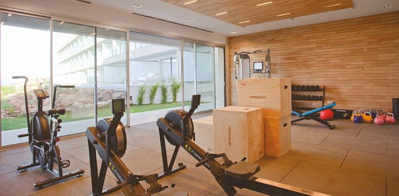 hotel 55 santo tomas, gym