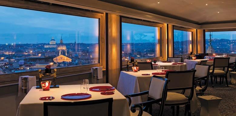 Hassler Roma, restaurant