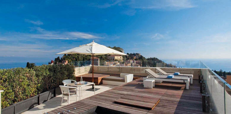 NH Collection Taormina, terrace