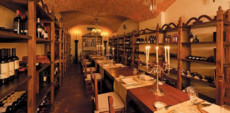 Grand Hotel Majestic Bologna, wine cellar