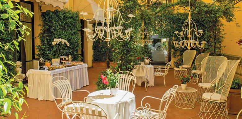 Grand Hotel Majestic Bologna, terrace