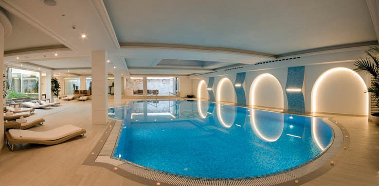 Grand Hotel Da Vinci, indoor pool