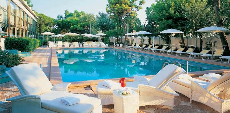 Grand Hotel Rimini, pool