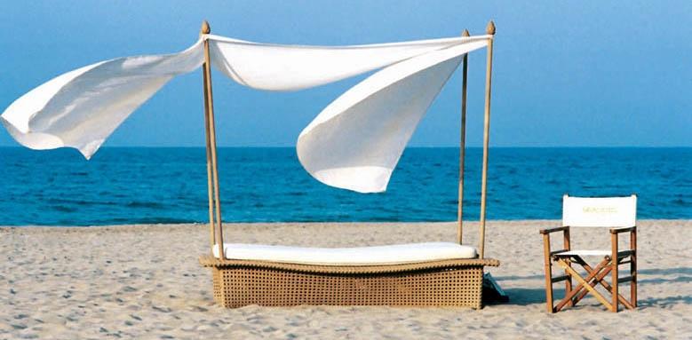 Grand Hotel Rimini, beach
