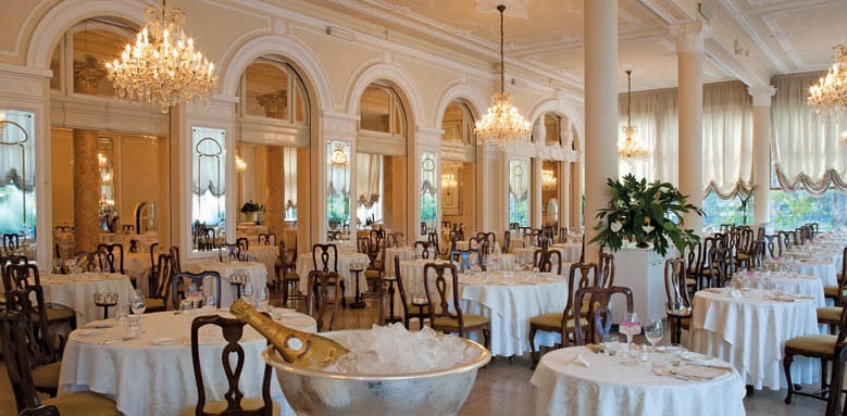 Grand Hotel Rimini, restaurant