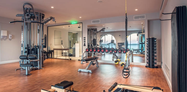 Marbella Nido Suites, fitness rooms