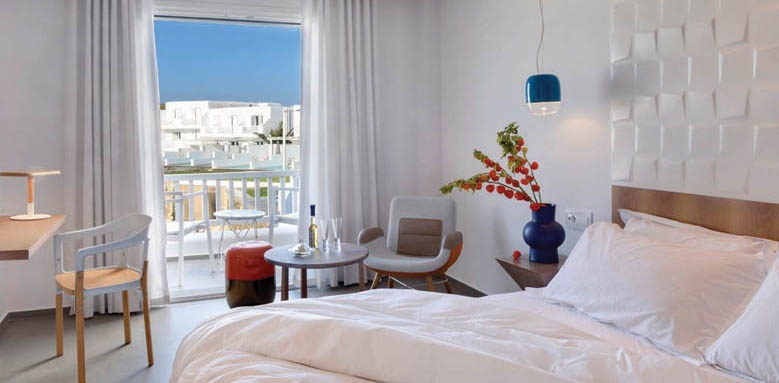 Myconian Korali, double room with sea view