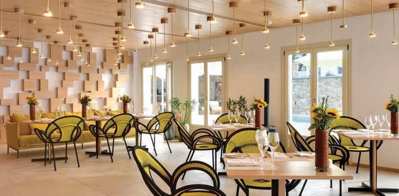 Myconian Naia, restaurant interior