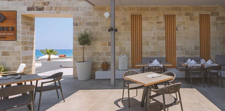 Ikones Suites, bar terrace