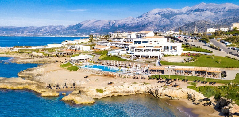 Abaton Island Resort, beach