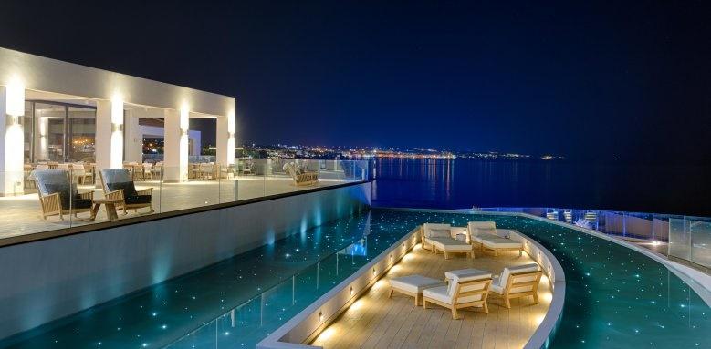 abaton resort, night view