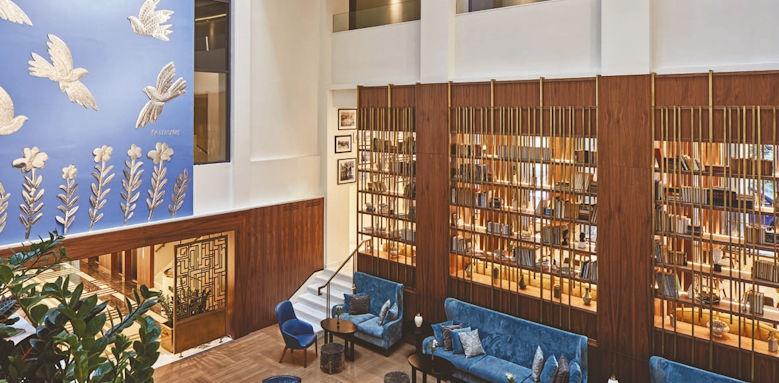 Electra Metropolis, Atrium lounge