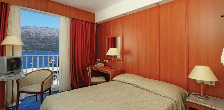 Hotel Marko Polo, standard side sea view