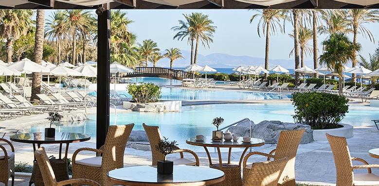 Kos Imperial Thalasso, pool view