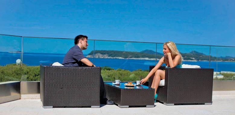 Valamar Lacroma, terrace