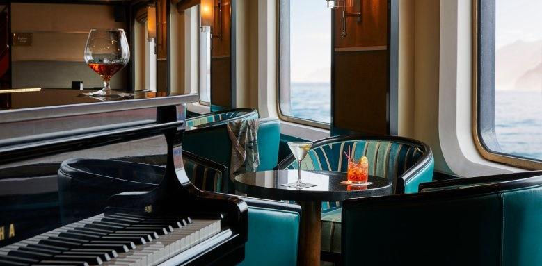 silversea, silver cloud piano bar