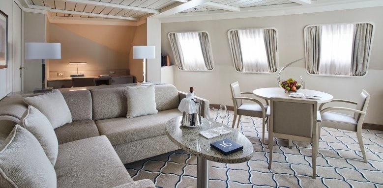 silversea, silver cloud lounge