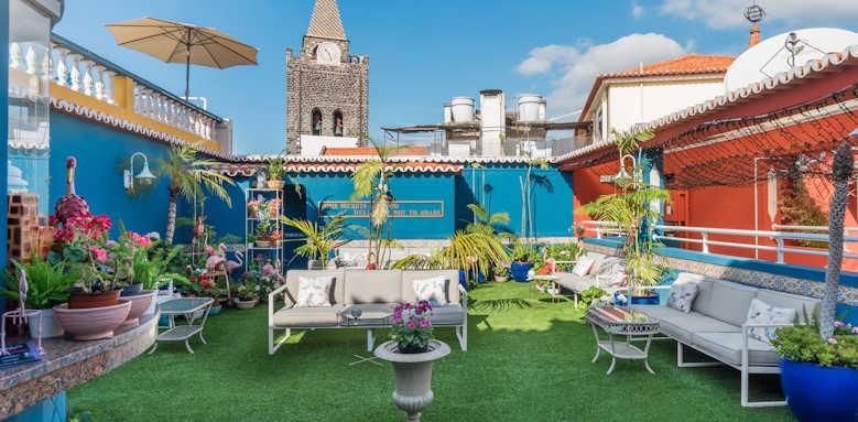 Se Boutique, rooftop terrace