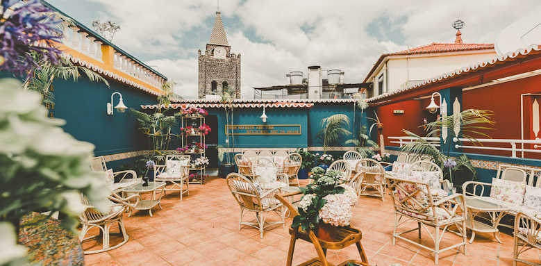Se Boutique Hotel, roof terrace