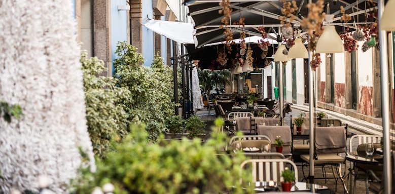 Se Boutique Hotel, restaurant terrace
