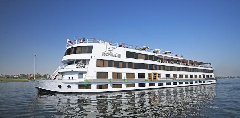 MS Jaz Royal- Nile cruise, exterior