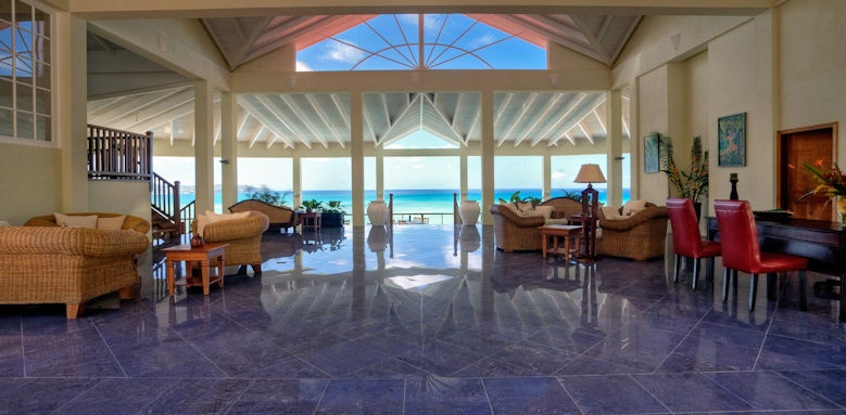 Calabash cove resort and spa, lobby