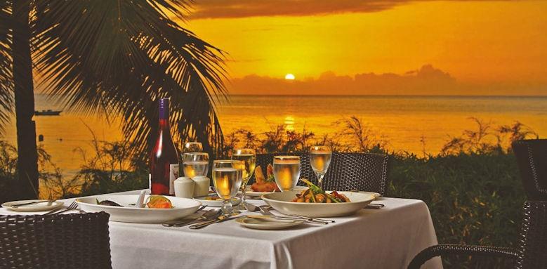st james's club morgan bay,  sunset restaurant