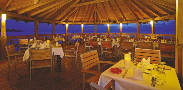 st james's club morgan bay,  pier restaurant