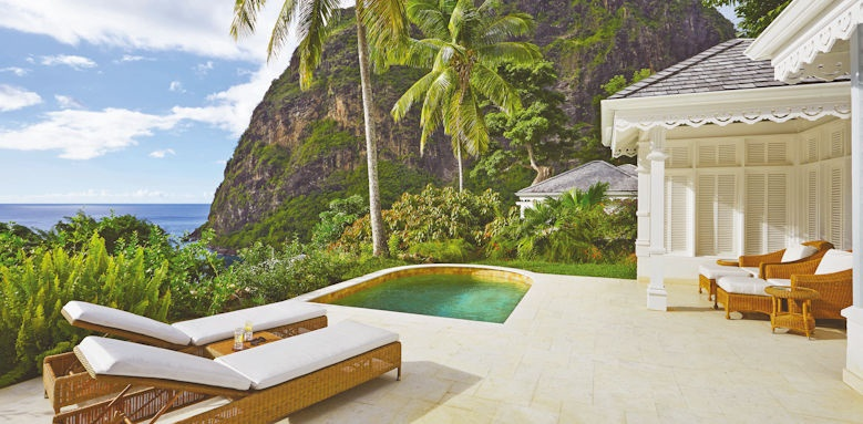 sugar beach, superior luxury pool