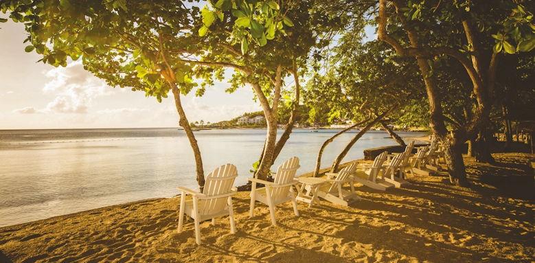 east winds, beach loungers