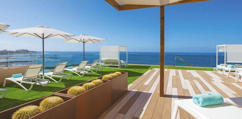Iberostar Bouganville Playa, sun terrace