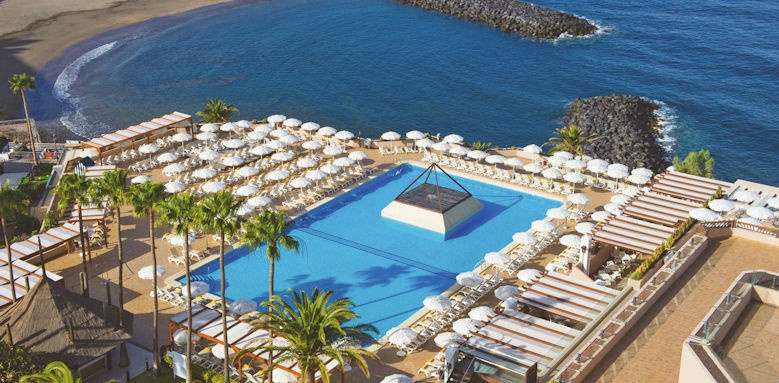Iberostar Bouganville Playa, pool overview