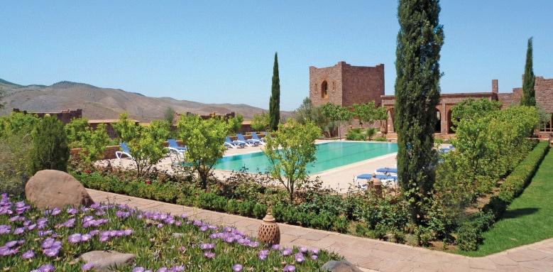 Kasbah Angour, pool + gardens