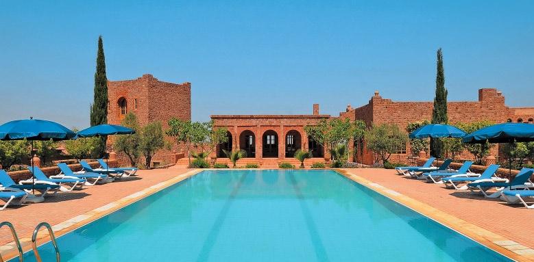 Kasbah Angour, pool