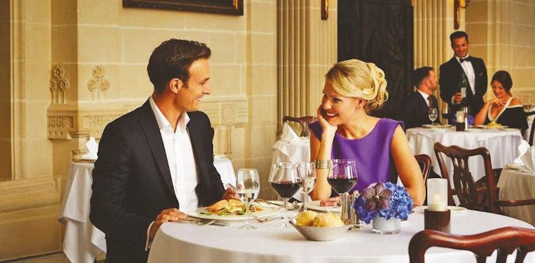 Corinthia Palace Hotel & Spa, couple dining