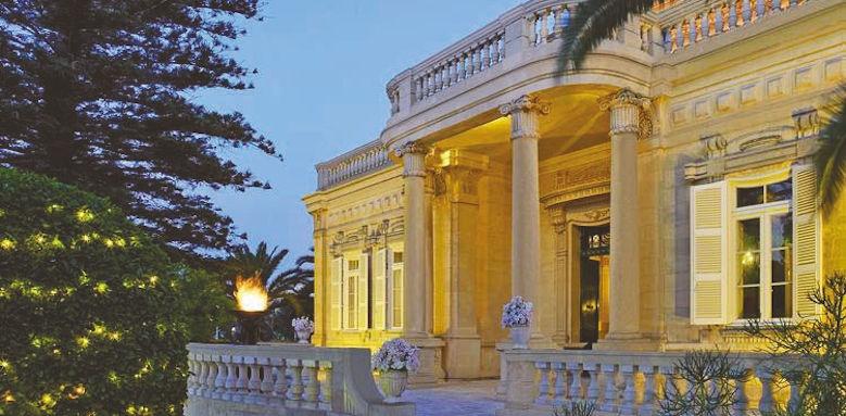 Corinthia Palace, facade